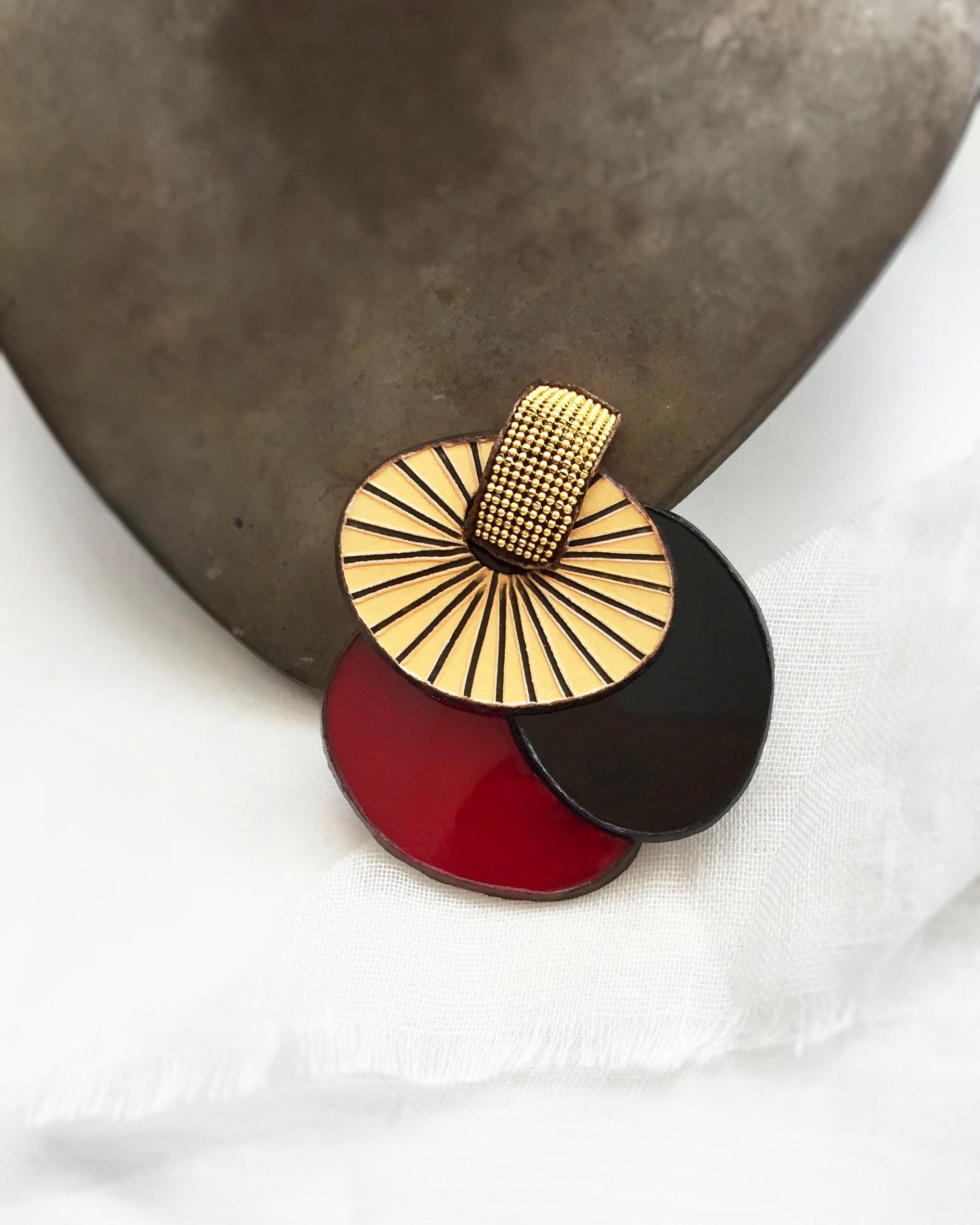 Broches de haute fantaisie par Ciléa bijoux
