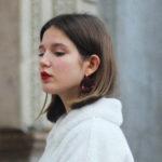 Colorfull earrings Anémones Cilea paris