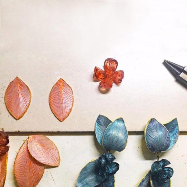 Handmade luxury costume jewellery Cilea bijoux