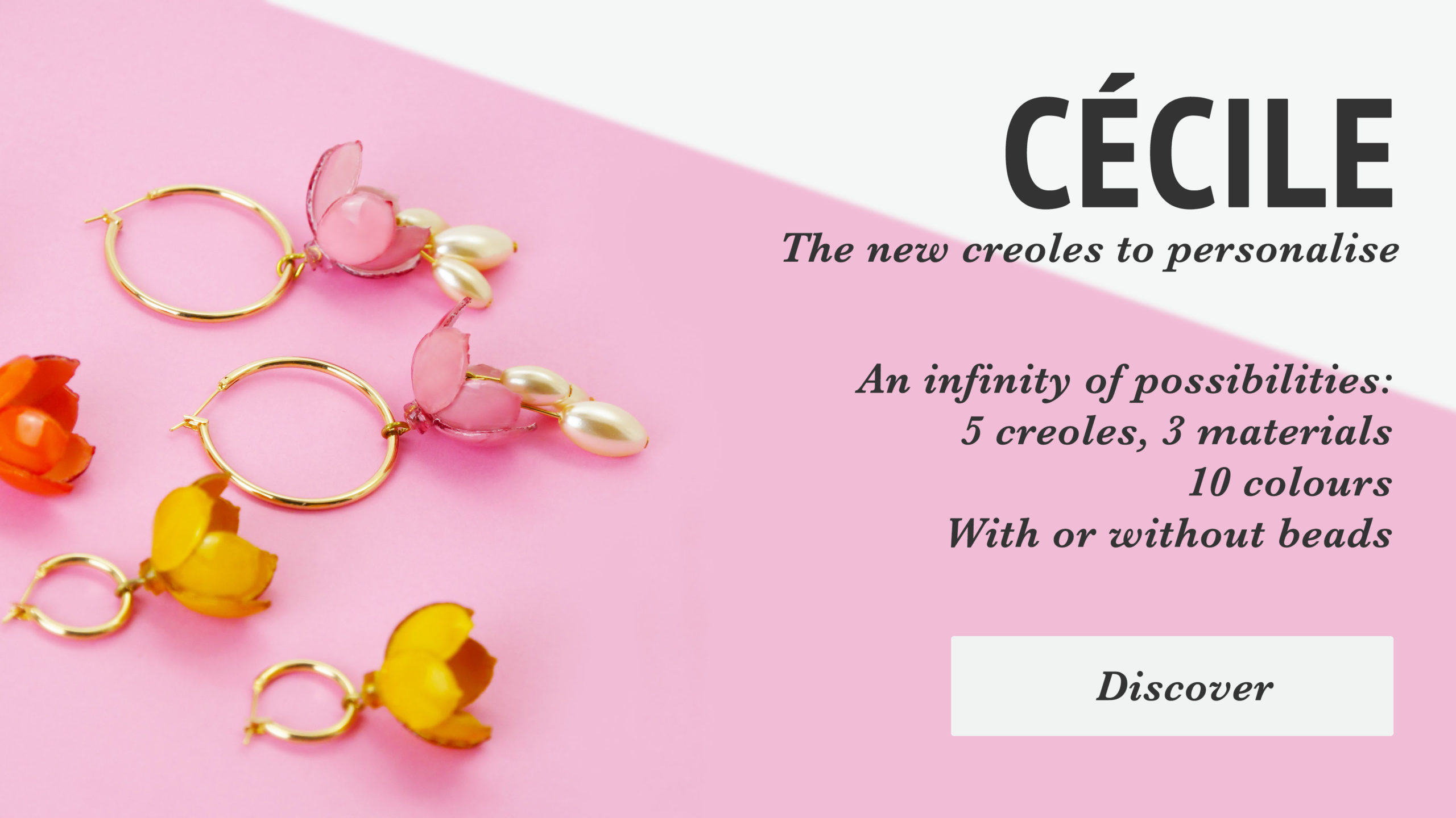 Cecile, the new hoop to personalise